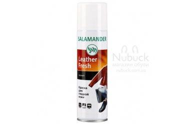 Восстанавливающий спрей-краска для гладкой кожи Salamander Leather Fresh
