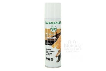 Защитный восстанавливающий аэрозоль для нубука и замши Salamander Nubuk Velours