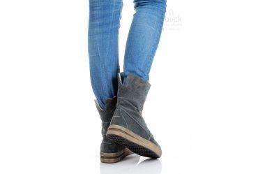 Зимние женские ботинки Top-Hole 038 grey