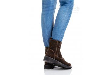 Демисезонные женские ботинки Top-Hole 057 brown