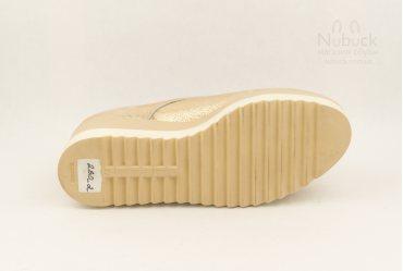 Женские туфли на платформе Ari Andano 260-2 gold