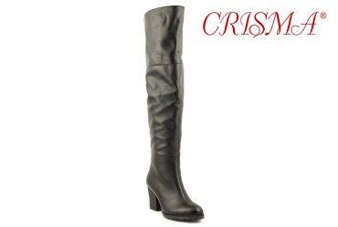 Зимние женские сапоги ботфорты Crisma 1704
