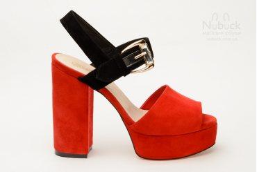 Женские босоножки Crisma 1884-8010 red
