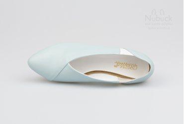 Женские туфли (балетки) Crisma 1908 blue
