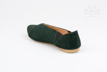 Женские туфли (балетки) Crisma 1908 green
