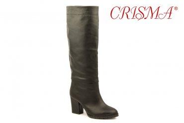 Демисезонные / зимние женские сапоги Crisma 683 black