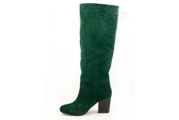 Демисезонные / зимние женские сапоги Crisma 683 green