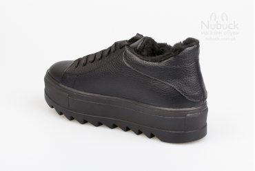 Зимние женские полуботинки (кроссовки) Dino Vittorio Io0101