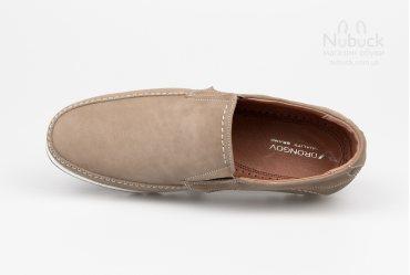 Комфортные мужские туфли (мокасины) Drongov Corso-LT