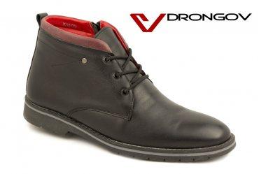 Модные зимние мужские ботинки Drongov Grom-5