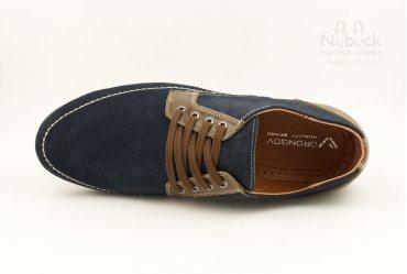 Комфортные мужские туфли (мокасины) Drongov Lacosta-1T-SN