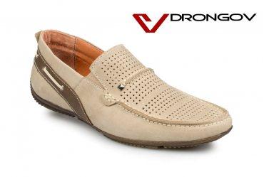 Летние мужские мокасины Drongov Magnat-PR-SV