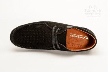 Летние мужские туфли (мокасины) Drongov Mustang-PR-7