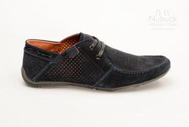 Летние мужские туфли (мокасины) Drongov Mustang-PR-SN