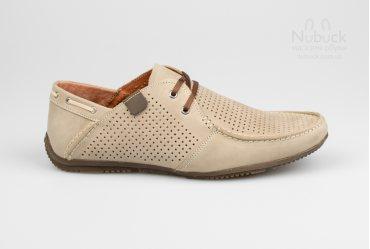 Летние мужские туфли (мокасины) Drongov Mustang-PR-SV