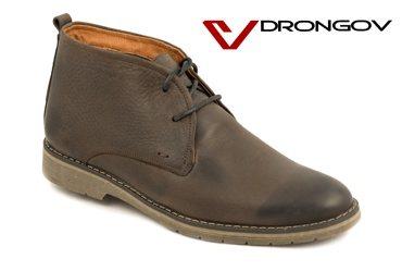 Модные зимние мужские ботинки Drongov Quality-K
