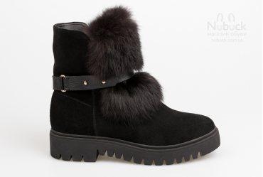 Зимние женские ботинки Favi 1545-6 bs