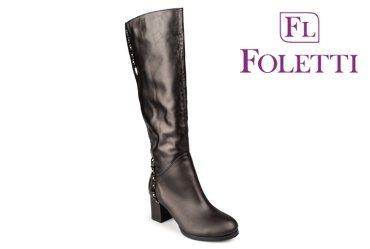 Зимние женские сапоги Foletti 60-40
