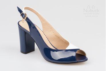 Женские босоножки Foletti 845 white-blue