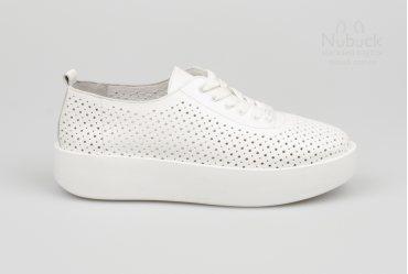 Летние женские кеды Ilona 19-102 white