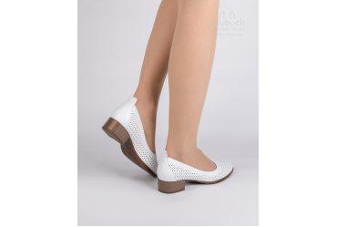 Летние женские туфли Ilona 924-93 white summer