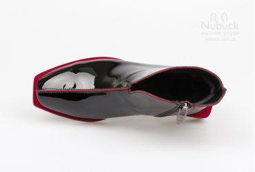 Демисезонные женские ботинки Lirio HB338 red