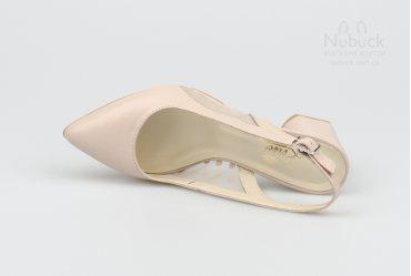 Летние женские туфли Lirio L0149 visone
