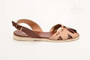Женские босоножки Morento 0014-0172 brown