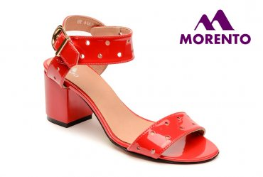 Женские босоножки Morento 601-6163 red