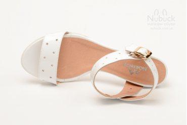Женские босоножки Morento 601-6163 white