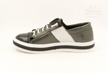 Модные женские туфли (кеды) Morento 6214-0101 grey