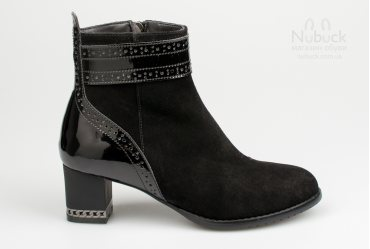 Демисезонные женские ботинки Morento A005-4199 lack