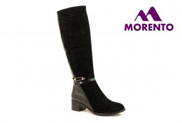 Демисезонные / зимние женские сапоги Morento A005-485-1