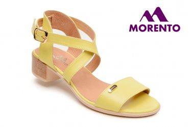 Женские босоножки Morento C312-3170 lemon