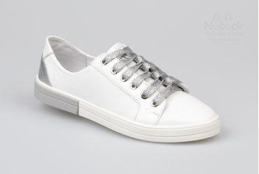 Женские кеды Morento L7-099 silver