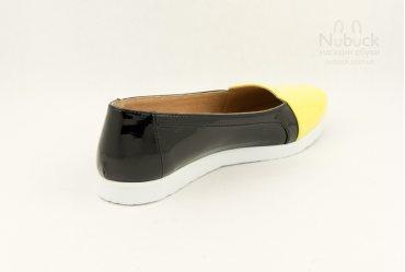 Женские туфли (балетки) Morento TGT-039 yellow