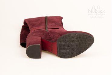 Демисезонные женские сапоги Nivelle 5567-8052 bordo