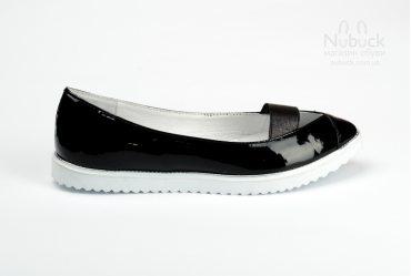 Женские туфли (балетки) Roberto Netti 1764 black