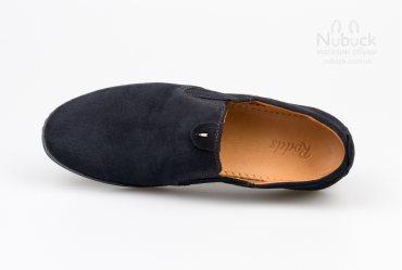 Комфортные мягкие мужские туфли (мокасины) Rodds Bullet NBS