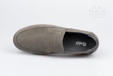 Летние мягкие мужские туфли (мокасины) Rodds Camper MG SE