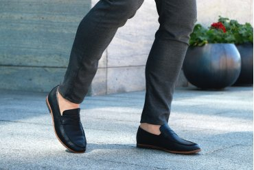 Комфортные мужские туфли (мокасины, лоферы) Rodds Metropolitan