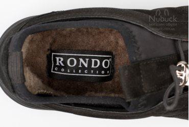 Зимние мужские полуботинки Rondo 004-31