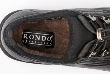 Зимние мужские полуботинки Rondo 039-0068