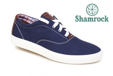Shamrock 10.14 blue cotton