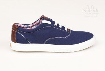 Мужские кроссовки (кеды) Shamrock 10.14 blue cotton