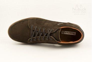 Комфортные мужские туфли (кроссовки) Shamrock 10.32d brown