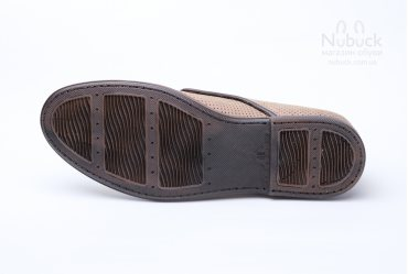 Летние комфортные мужские туфли Shamrock 10.37 latte