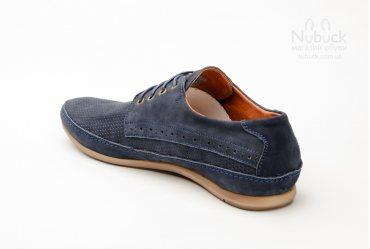 Летние мужские туфли (мокасины) Shamrock 10.6 p blue