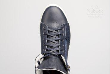 Демисезонные мужские хайтопы Shamrock 20.18 blue