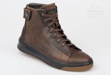 Мужские ботинки (хайтопы) Shamrock 20.48 brown
